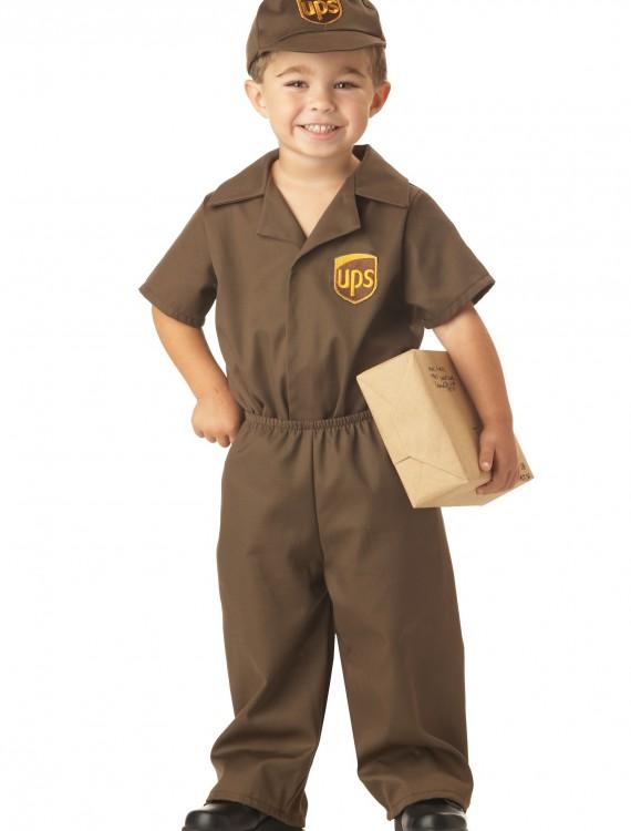 Toddler UPS Guy Costume, halloween costume (Toddler UPS Guy Costume)
