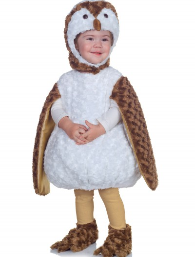 Toddler White Barn Owl Costume, halloween costume (Toddler White Barn Owl Costume)