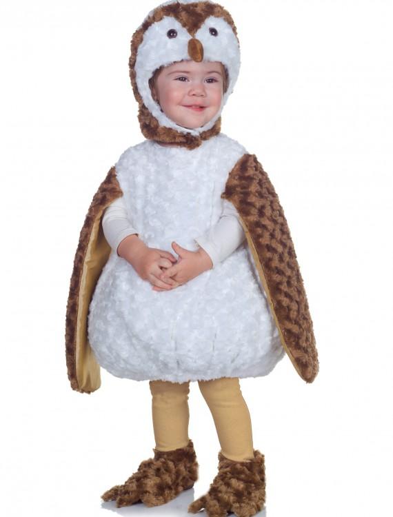 Toddler White Barn Owl Costume, halloween costume (Toddler White Barn Owl Costume)