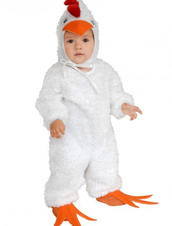 Toddler White Rooster Costume, halloween costume (Toddler White Rooster Costume)