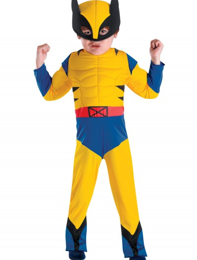 Toddler Wolverine Costume, halloween costume (Toddler Wolverine Costume)