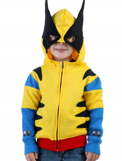 Toddler Wolverine Costume Hoodie, halloween costume (Toddler Wolverine Costume Hoodie)