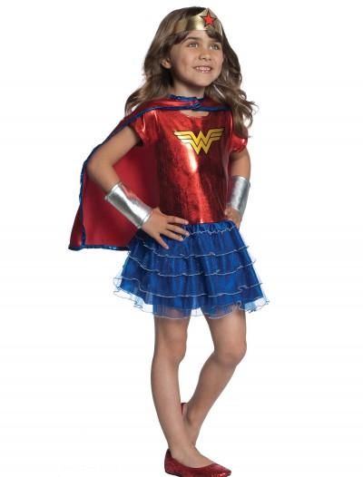 Toddler Wonder Woman Tutu Set, halloween costume (Toddler Wonder Woman Tutu Set)