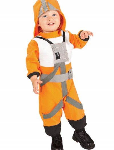 Toddler X-Wing Fighter Pilot Costume, halloween costume (Toddler X-Wing Fighter Pilot Costume)