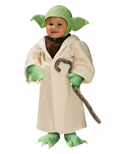 Toddler Yoda Costume, halloween costume (Toddler Yoda Costume)