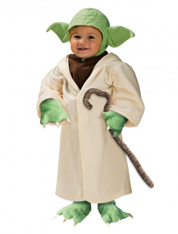 Toddler Yoda Costume, halloween costume (Toddler Yoda Costume)