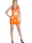 Tootsie Roll Pop Orange Tank Dress, halloween costume (Tootsie Roll Pop Orange Tank Dress)