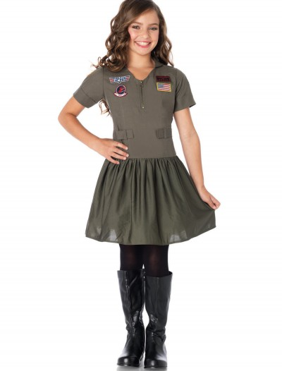 Top Gun Girls Flight Dress, halloween costume (Top Gun Girls Flight Dress)