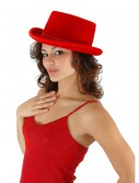 Red Velour Top Hat, halloween costume (Red Velour Top Hat)