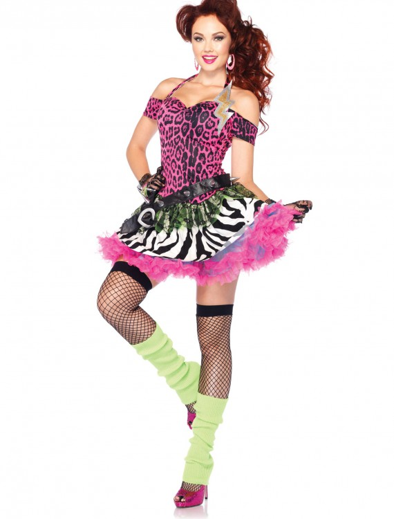 Totally 80s Amy Costume, halloween costume (Totally 80s Amy Costume)