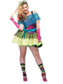 Totally Tubular Tina Plus Size Costume, halloween costume (Totally Tubular Tina Plus Size Costume)
