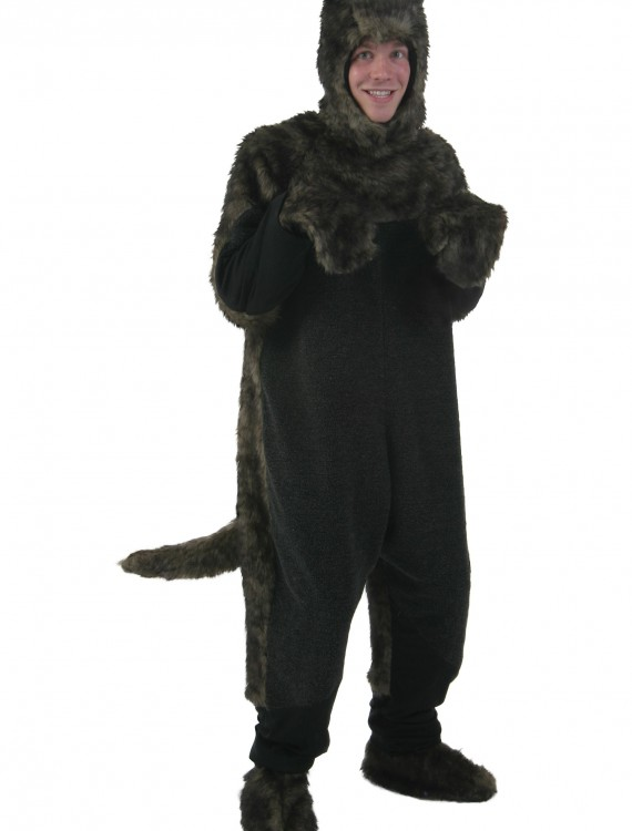 Adult Black Dog Costume, halloween costume (Adult Black Dog Costume)