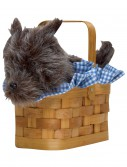 Black Dog Handbag Basket, halloween costume (Black Dog Handbag Basket)