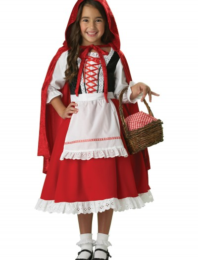 Traditional Little Red Riding Hood Costume, halloween costume (Traditional Little Red Riding Hood Costume)