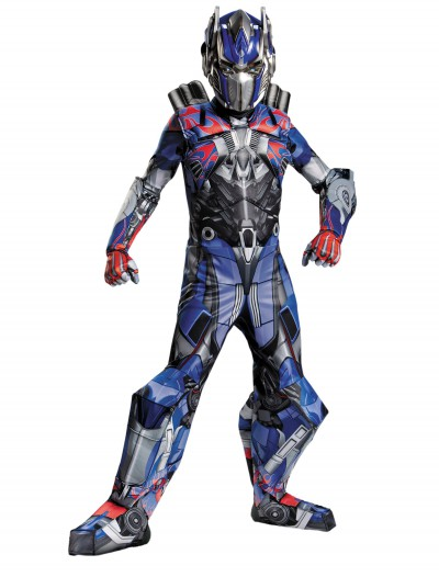 Transformers 4 Boys Optimus Prime Prestige Costume, halloween costume (Transformers 4 Boys Optimus Prime Prestige Costume)
