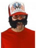 Trash 'Stache Trucker, halloween costume (Trash 'Stache Trucker)