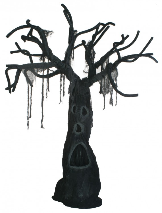 Tree With Open Mouth, halloween costume (Tree With Open Mouth)