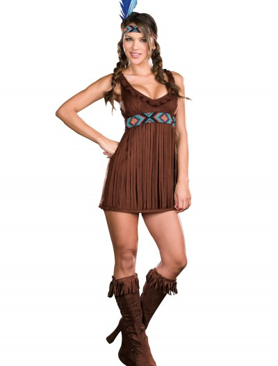 Tribal Trouble Indian Costume, halloween costume (Tribal Trouble Indian Costume)