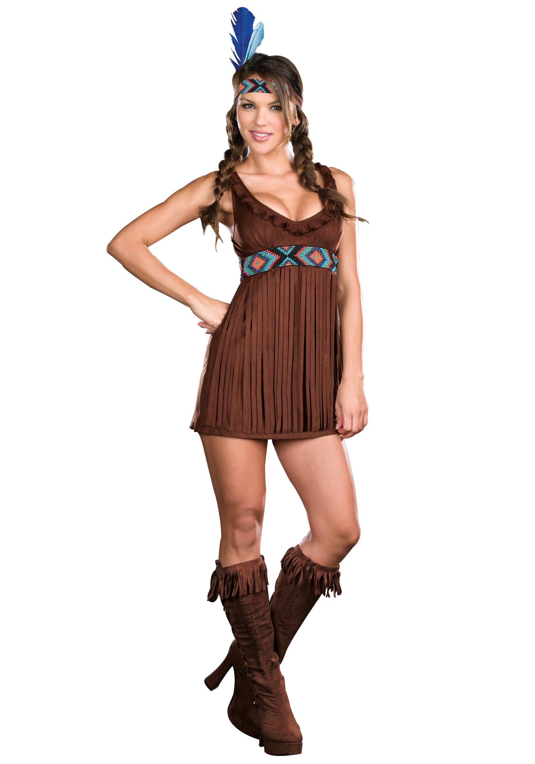 Tribal Trouble Indian Costume  sc 1 st  Halloween Costumes & Tribal Trouble Indian Costume - Halloween Costumes