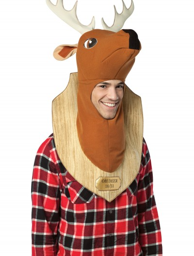 Trophy Head Oh Deer Costume, halloween costume (Trophy Head Oh Deer Costume)