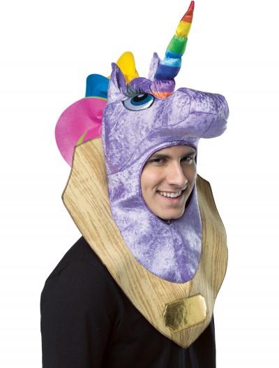 Trophy Head Unicorn Hood, halloween costume (Trophy Head Unicorn Hood)