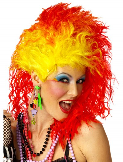 True Colors 80s Wig, halloween costume (True Colors 80s Wig)