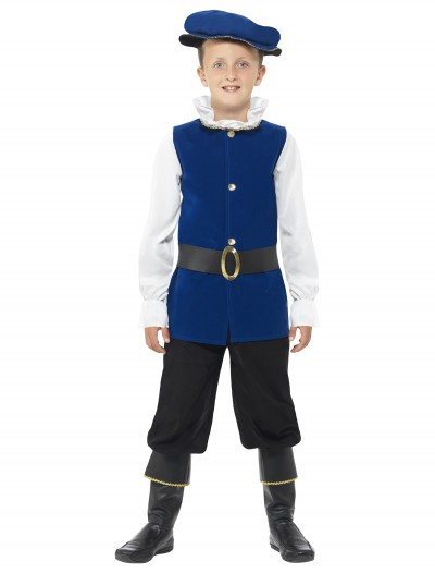 Tudor Boy Costume, halloween costume (Tudor Boy Costume)