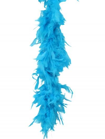 Turquoise 80 Gram Feather Boa, halloween costume (Turquoise 80 Gram Feather Boa)