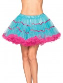 Turquoise and Neon Pink Petticoat, halloween costume (Turquoise and Neon Pink Petticoat)