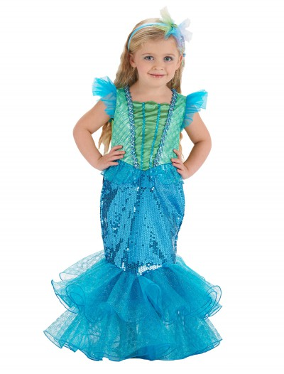Turquoise/Lime Mermaid Costume, halloween costume (Turquoise/Lime Mermaid Costume)