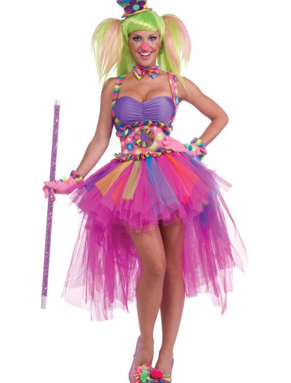 Tutu Lulu the Clown Costume, halloween costume (Tutu Lulu the Clown Costume)