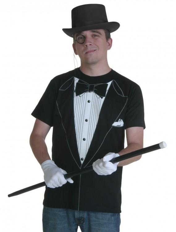 Tuxedo T-Shirt, halloween costume (Tuxedo T-Shirt)