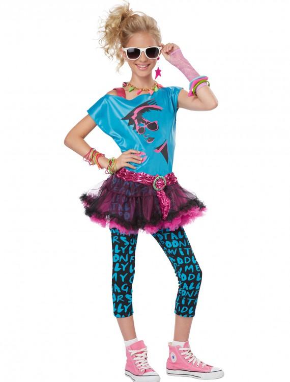 Tween 80s Valley Girl Costume, halloween costume (Tween 80s Valley Girl Costume)