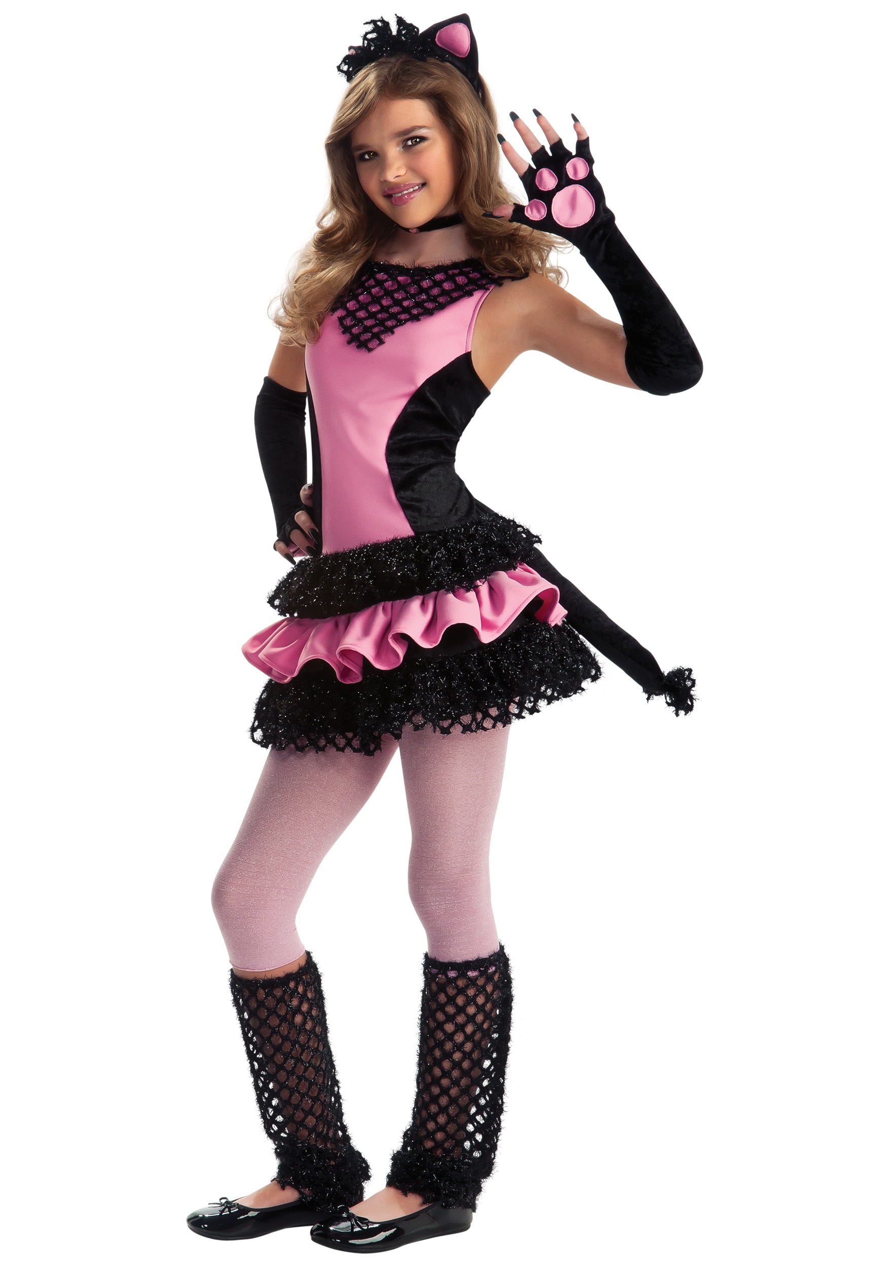 Tween Black Kitty Costume  sc 1 st  Halloween Costumes & Tween Black Kitty Costume - Halloween Costumes