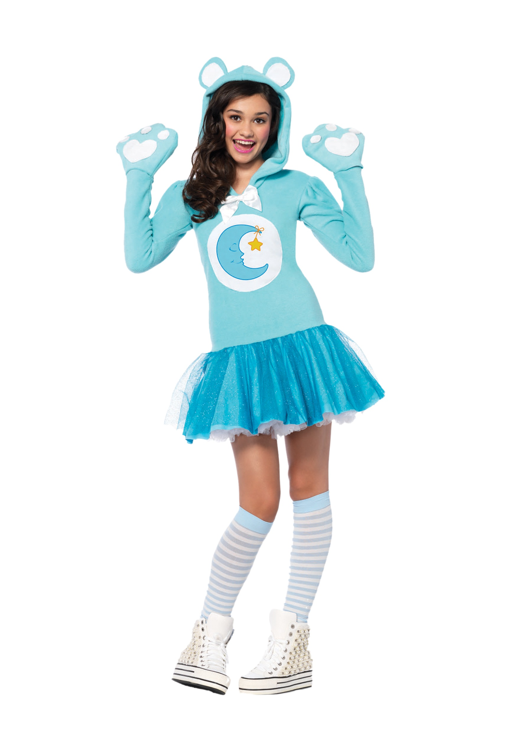 Tween Care Bears Bedtime Bear Costume  sc 1 st  Halloween Costumes & Tween Care Bears Bedtime Bear Costume - Halloween Costumes