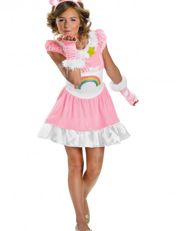 Tween Cheer Bear Costume, halloween costume (Tween Cheer Bear Costume)