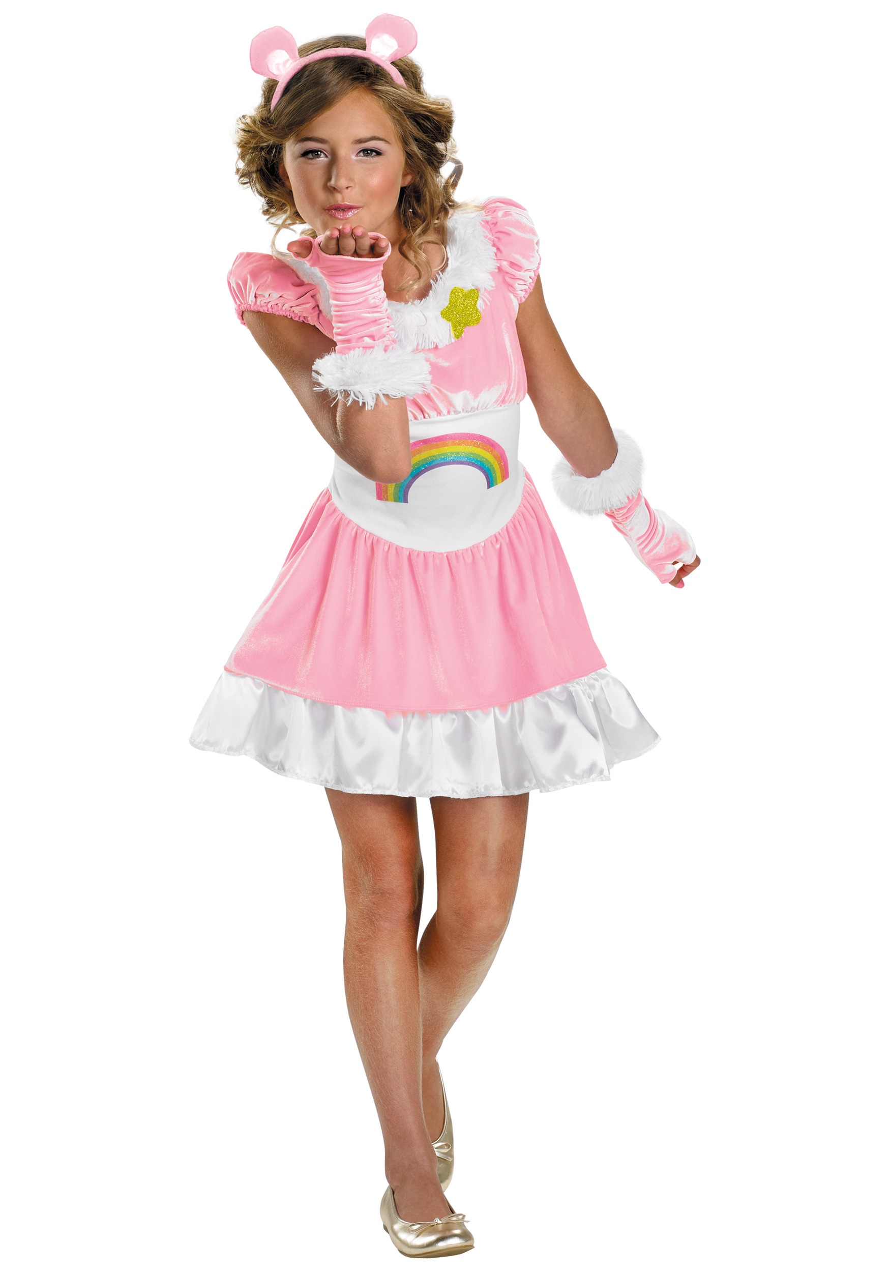 Tween Cheer Bear Costume  sc 1 st  Halloween Costumes : pink care bear costume  - Germanpascual.Com