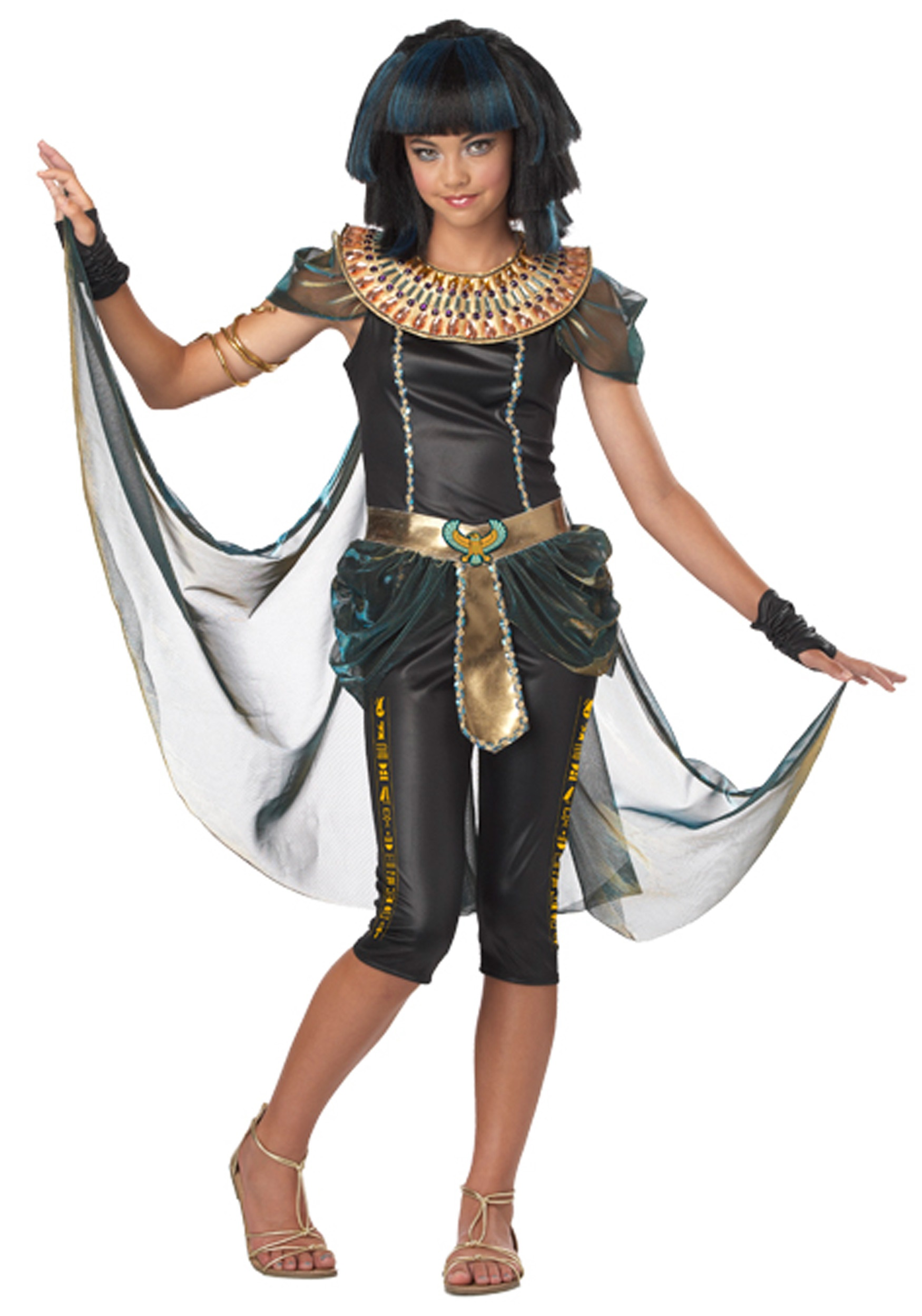Tween Dark Egyptian Princess Costume  sc 1 st  Halloween Costumes & Tween Dark Egyptian Princess Costume - Halloween Costumes