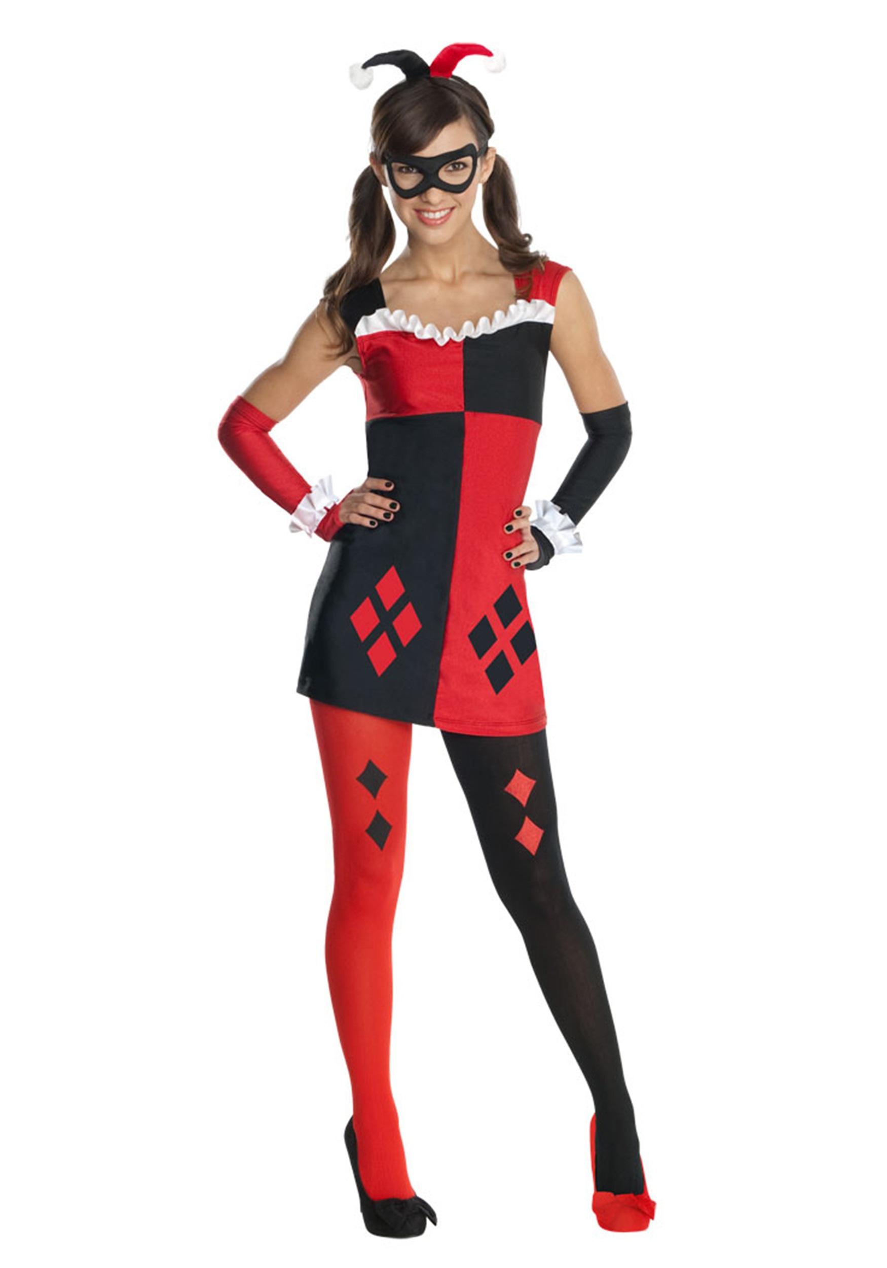 Tween Harley Quinn Costume - Halloween Costumes