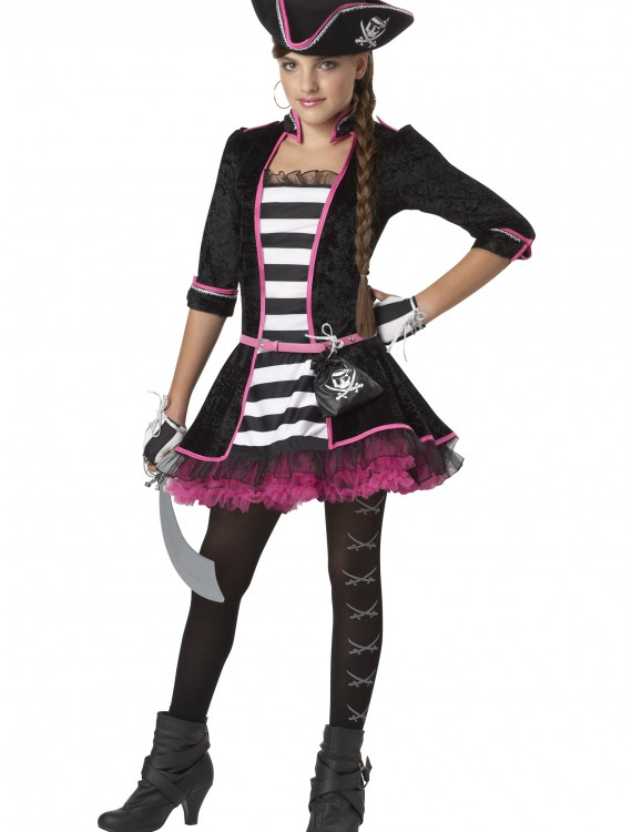 Tween High Seas Pirate Costume, halloween costume (Tween High Seas Pirate Costume)