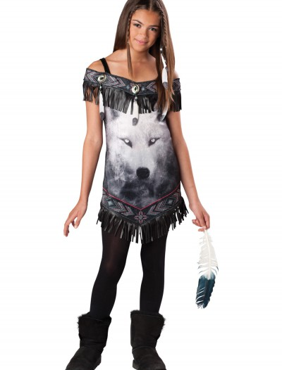 Tween Indian Tribal Spirit Costume, halloween costume (Tween Indian Tribal Spirit Costume)