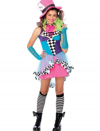 Tween Mayhem Hatter Costume, halloween costume (Tween Mayhem Hatter Costume)