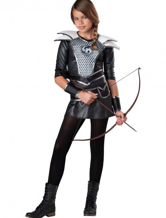 Tween Midnight Huntress Costume, halloween costume (Tween Midnight Huntress Costume)