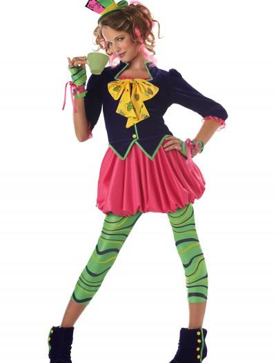 Tween Miss Mad Hatter Costume, halloween costume (Tween Miss Mad Hatter Costume)