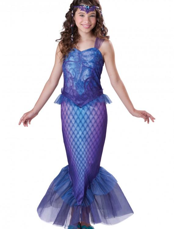 Tween Mysterious Mermaid Costume, halloween costume (Tween Mysterious Mermaid Costume)