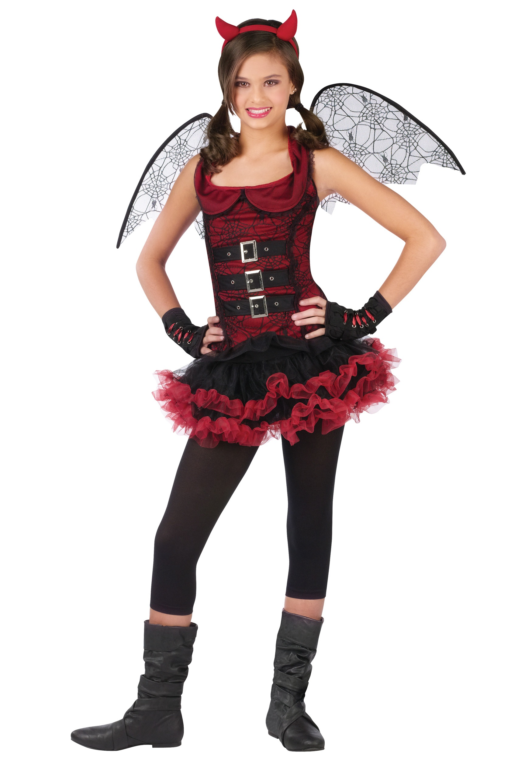 Tween Night Wing Devil Costume  sc 1 st  Halloween Costumes & Tween Night Wing Devil Costume - Halloween Costumes