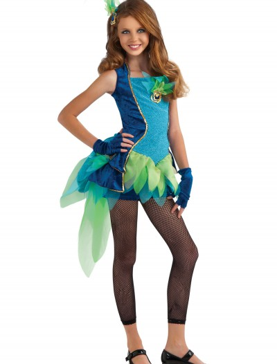Tween Peacock Costume, halloween costume (Tween Peacock Costume)