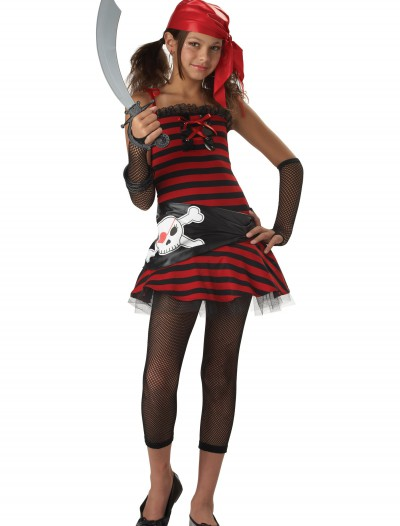 Tween Pirate Cutie Costume, halloween costume (Tween Pirate Cutie Costume)