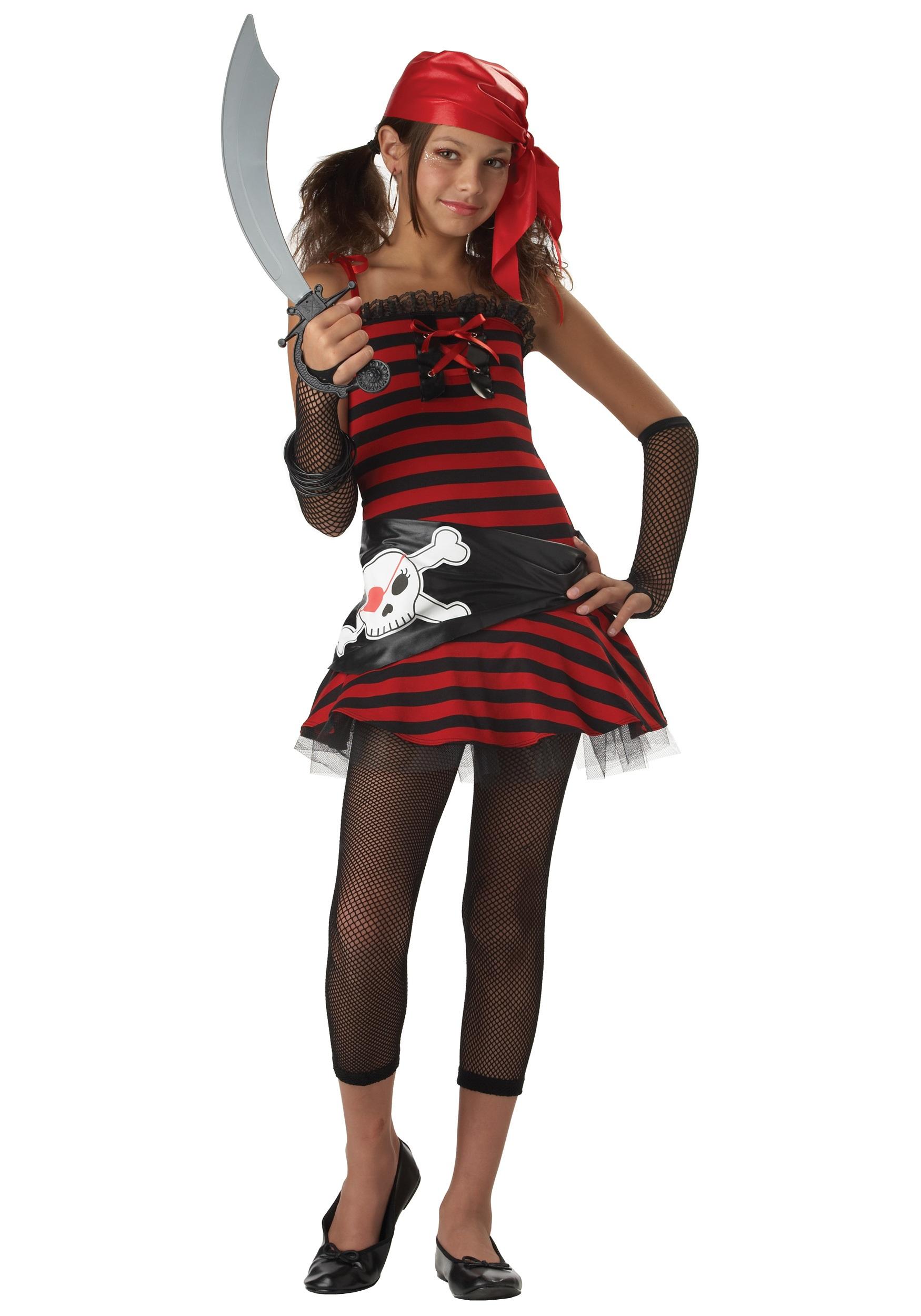 tween pirate cutie costume