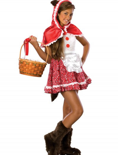 Tween Red Riding Hood Costume, halloween costume (Tween Red Riding Hood Costume)